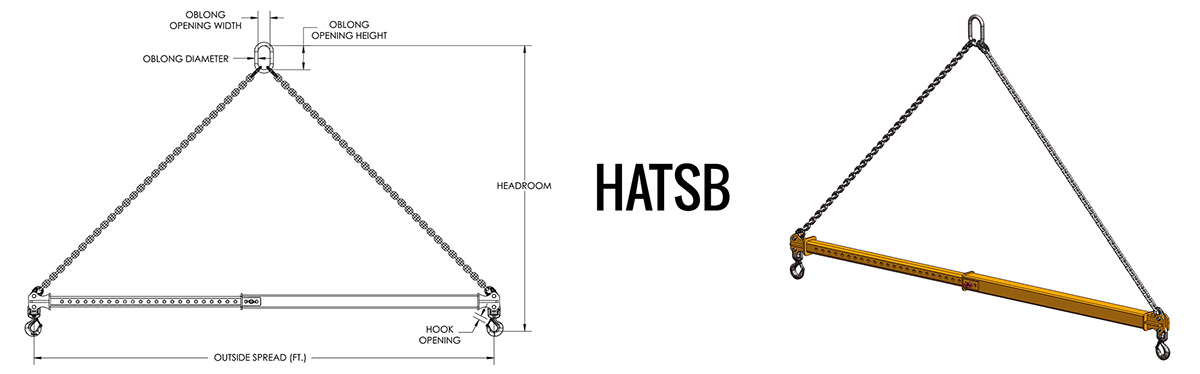 HATSB - Adjustable Telescopic Spreader Beam