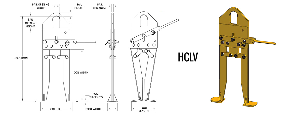 HCLV - Vertical Coil Lifter