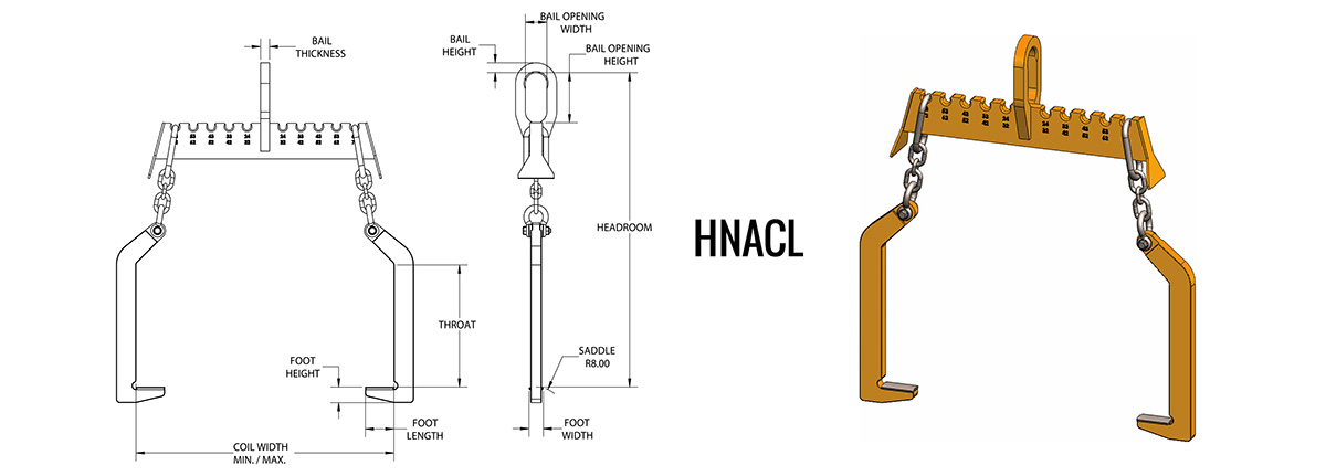 HNACL - Narrow Arm Coil Lifter