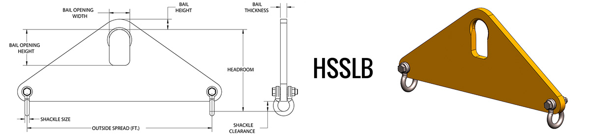 HSSLB - Short Span Lifting Beam