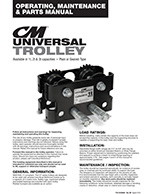 CM Universal Trolley Manual