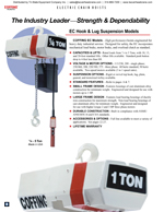 Coffing EC Hoist Brochure
