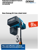 Demag DC-COM Brochure
