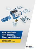 Demag DMR Wire Rope Hoist Brochure