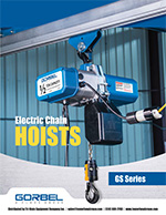 Gorbel GS Electric Chain Hoist Brochure