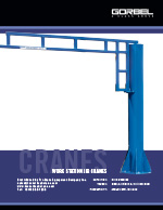 Gorbel Work Station Jib Crane Brochure