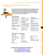 Harrington RHN Double Girder Wire Rope Hoist Brochure