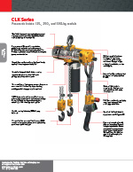 IR CLK Series Air Hoist Brochure