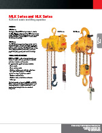 IR MLK / HLK Series Air Hoist Brochure