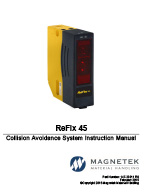 Magnetek ReFlx 45 Crane Anti-Collision System Manual