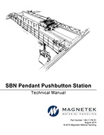 SBN Magnetek Push Button Station Technical Manual