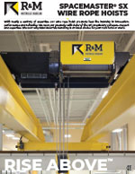R&M Spacemaster SX Wire Rope Hoist Brochure