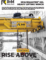 R&M Spacemaster SXL Wire Rope Hoist Brochure