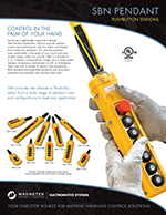 SBN Magnetek Push Button Station Brochure