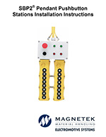 SBP2 Magnetek Push Button Station Manual