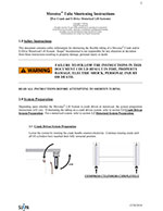 SUSPA Movotec Work Table Lift System Tube Shortening Instructions