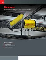 Zimmerman Series Pneumatic Balancers Brochure