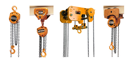 Harrington Hand Chain Hoists