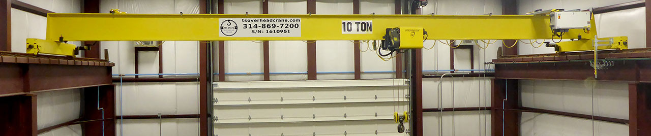 Single Girder 10 Ton Overhead Crane