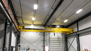 50 Ton Top Running Double Girder Crane