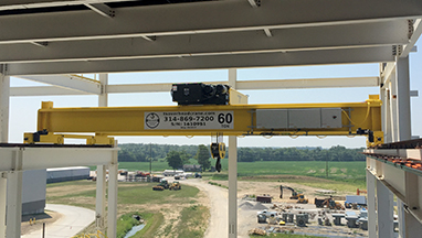 60-Ton Double Girder Top Running Bridge Crane