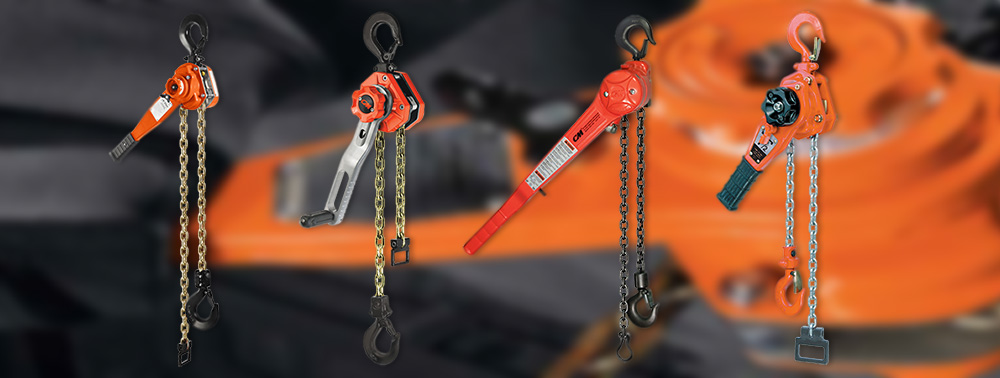 CM Lever/Ratchet Chain Hoists