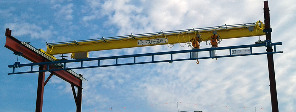 Overhead Crane with Fall Protection
