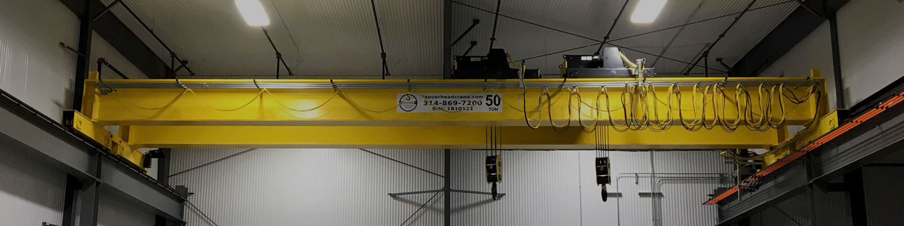 CUSTOM OVERHEAD BRIDGE CRANES