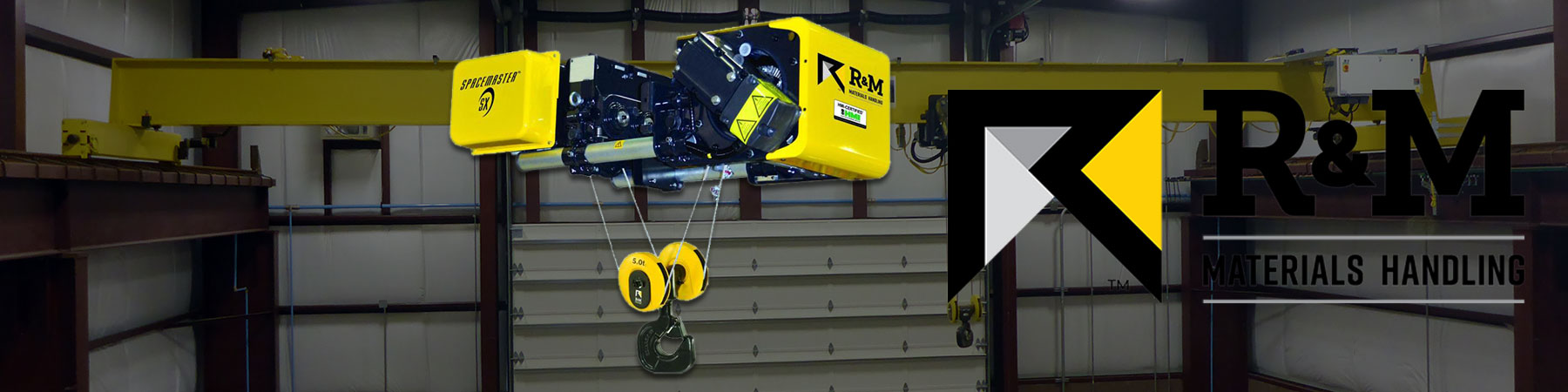 R&M Spacemaster SX Wire Rope Hoist