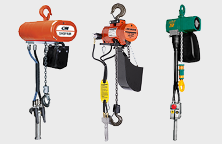 Picture for category Air Powered Hoists