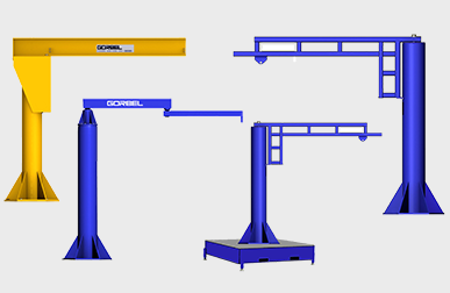 Picture for category Floor Mounted Jib Cranes