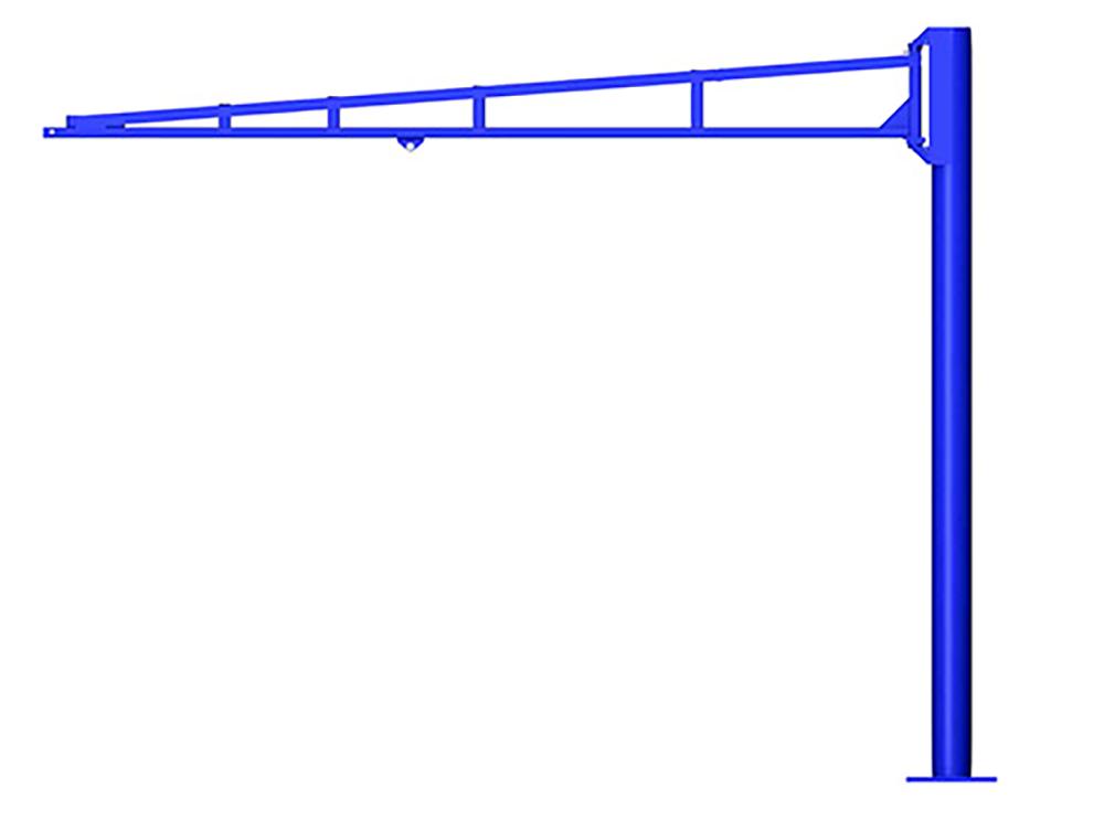 Gorbel TSJ150 Free Standing Tool Balancer Jib Crane
