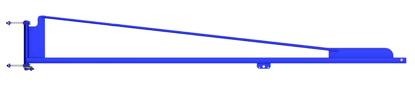Gorbel TSJ50 Wall Mounted Tool Balancer Jib Crane