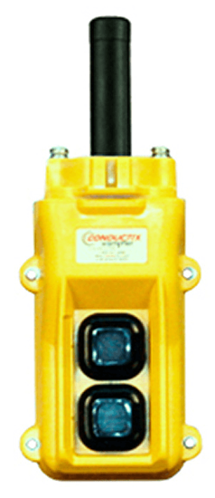 Conductix, 80 Series 2-Button Pendant, All Single Speed, Part No XA-34214