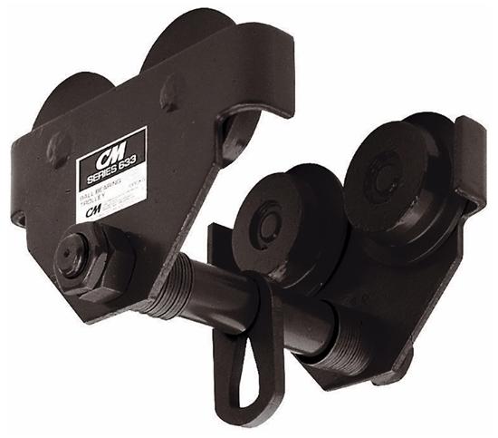 3 Ton CM Series 633 Plain Push Trolley, Part No 3307