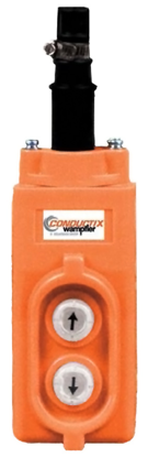 Conductix 20 Series 2-Button Pendant, for Direct Reversing Operation, Part No XA-35244