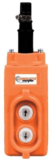 Conductix 20 Series 2-Button Pendant, for Direct Reversing Operation, Part No XA-35244
