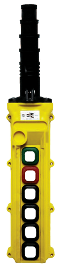 Duct-O-Wire L6 Series Pendant Push Button Station