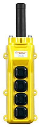 Conductix, 80 Series 4-Button Pendant, All Three Speed Part No XA-34225