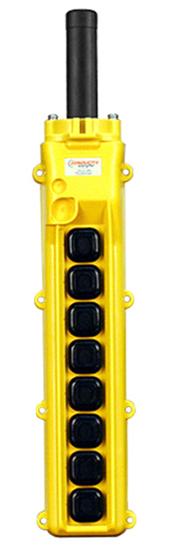 Conductix, 80 Series 8-Button Pendant, All Three Speed, Part No XA-34243
