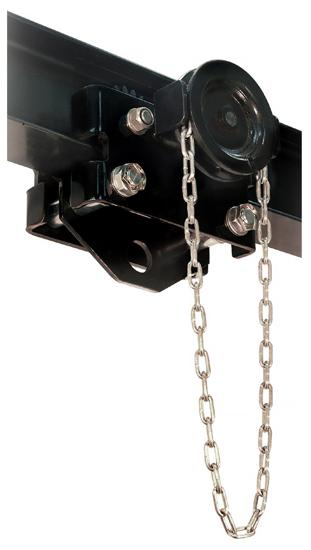 1-1/2 Ton CM CBTG Geared Trolley, Part No CBTG-0150