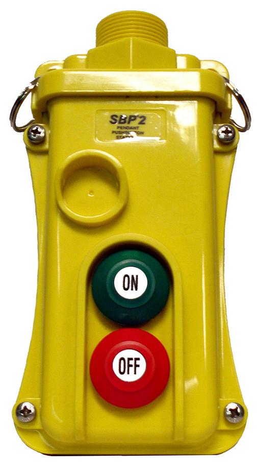 Magnetek 2-Btn SBP2 Pendant Station w/ Maintained On/Off