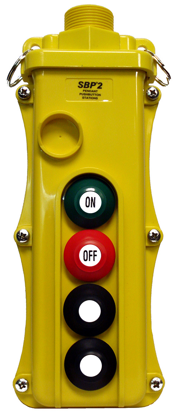 Magnetek 4-Btn SBP2 Pendant Station w/ Maintained On/Off