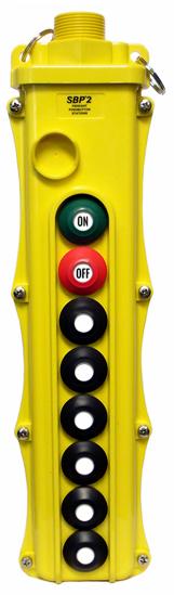 Magnetek 8-Btn SBP2 Pendant Station w/ Momentary On/Off