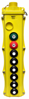 Magnetek 8-Btn SBP2 Pendant Station w/ Maintained On/Off