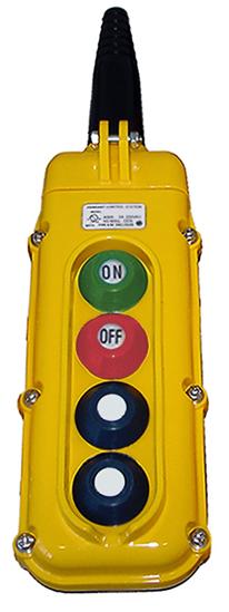 Magnetek 4-Button SBN Pendant Station w/ Momentary On/Off