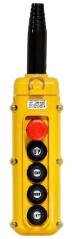 Magnetek 5-Button SBN Pendant w/ Emergency Stop