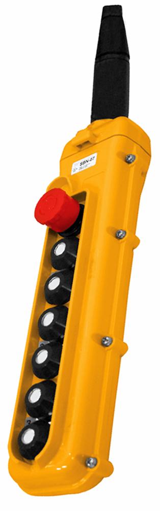 Magnetek 7-Button SBN Pendant w/ Emergency Stop
