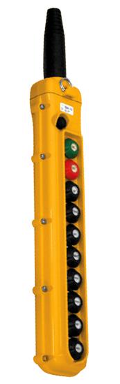 Magnetek 10-Button SBN Pendant Station w/ Momentary On/Off