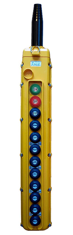 Magnetek 12-Button SBN Pendant Station w/ Momentary On/Off